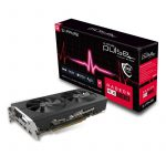 SAPPHIRE Video Card AMD Radeon PULSE RX 580 8G GDDR5 DUAL HDMI / DVI-D / DUAL DP OC W/BP (UEFI)