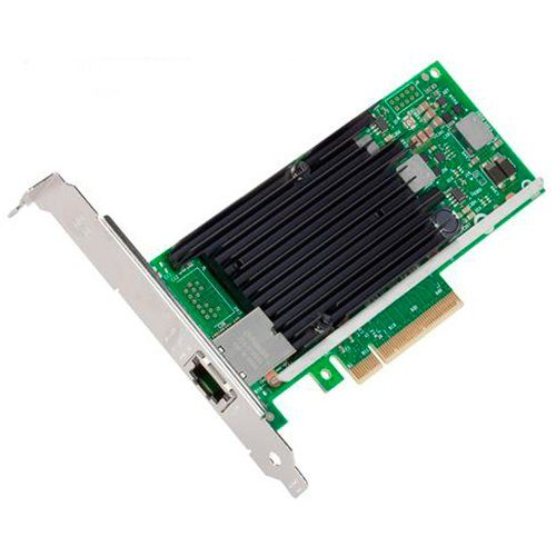 Мрежова Карта INTEL X540-T1 (10GBase-T, 10 Gigabit Ethernet, Low-profile) С опаковка