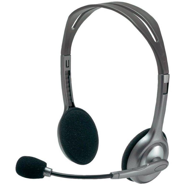 LOGITECH Corded Stereo Headset H110 – EMEA