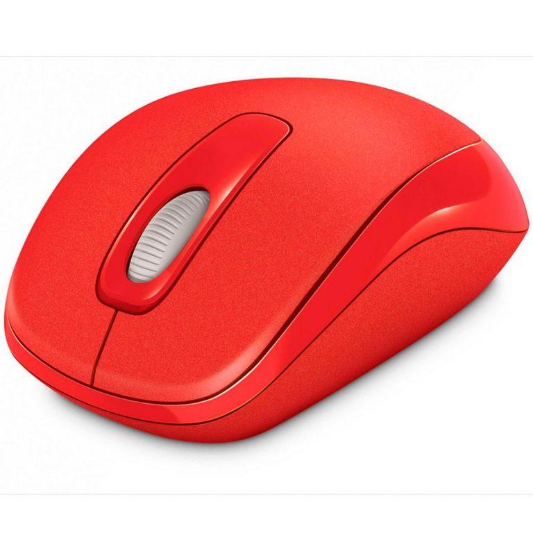 L2 Wrlss Mble Mouse 1000 Mac/Win USB EMEA EG EN/DA/DE/IW/PL/RO/TR Hdwr Flame Red