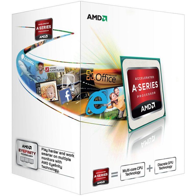 AMD CPU Richland A4-Series X2 4000 (3.2GHz,1MB,65W,FM2) box, Radeon TM HD 7480D