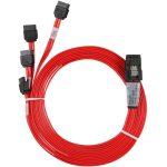 LSI SAS/SATA 1.0m Internal Mini-SAS (SFF-8087) to 4xDiscrete SATA cable