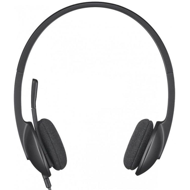 LOGITECH Corded USB Headset H340 – EMEA – BLACK