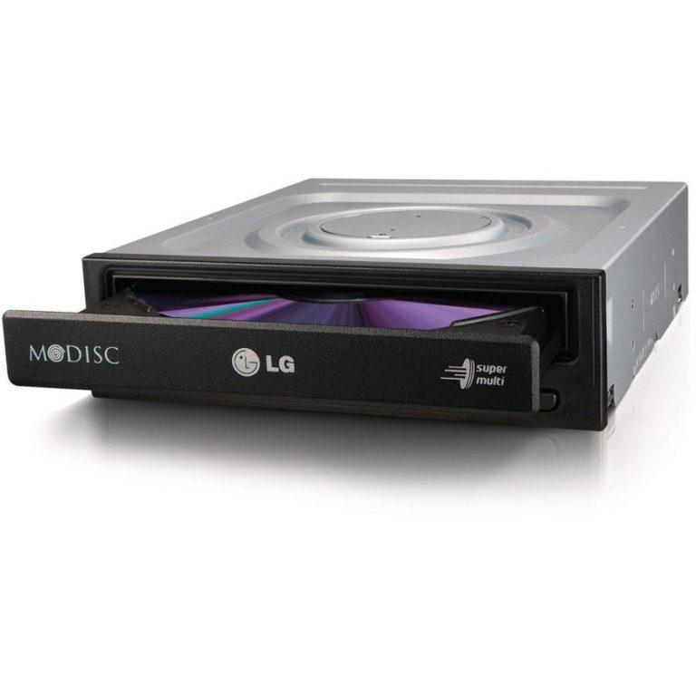 ODD LG GH24NSB0 Super-multi DVD-RW 24x SATA Black, Bulk