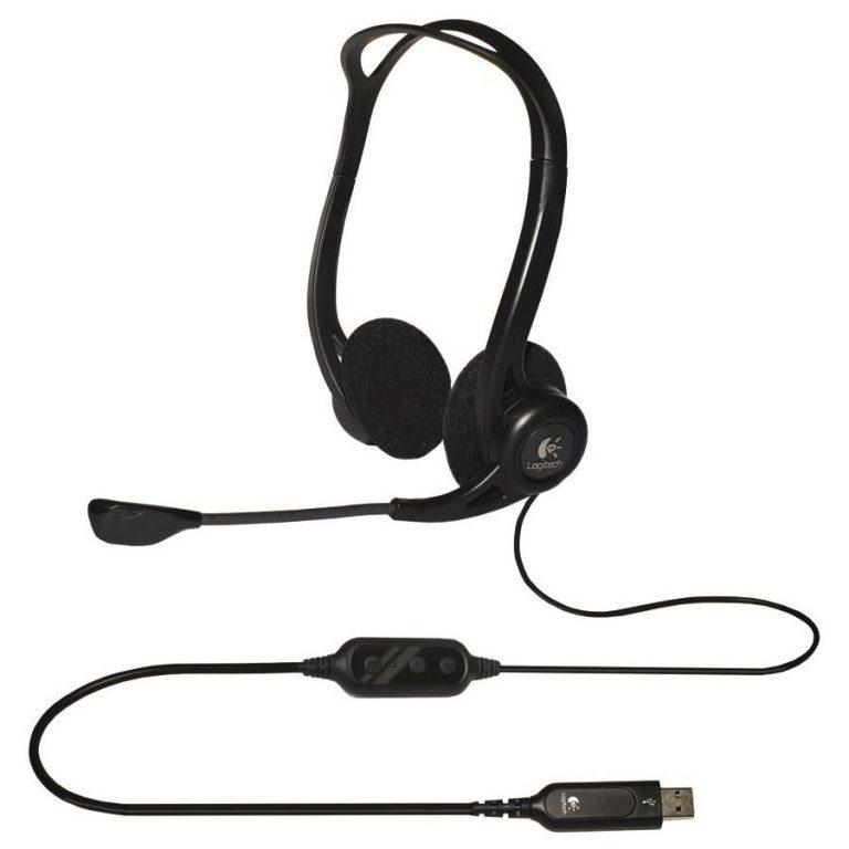 LOGITECH Corded USB Stereo Headset PC 960 – Business EMEA