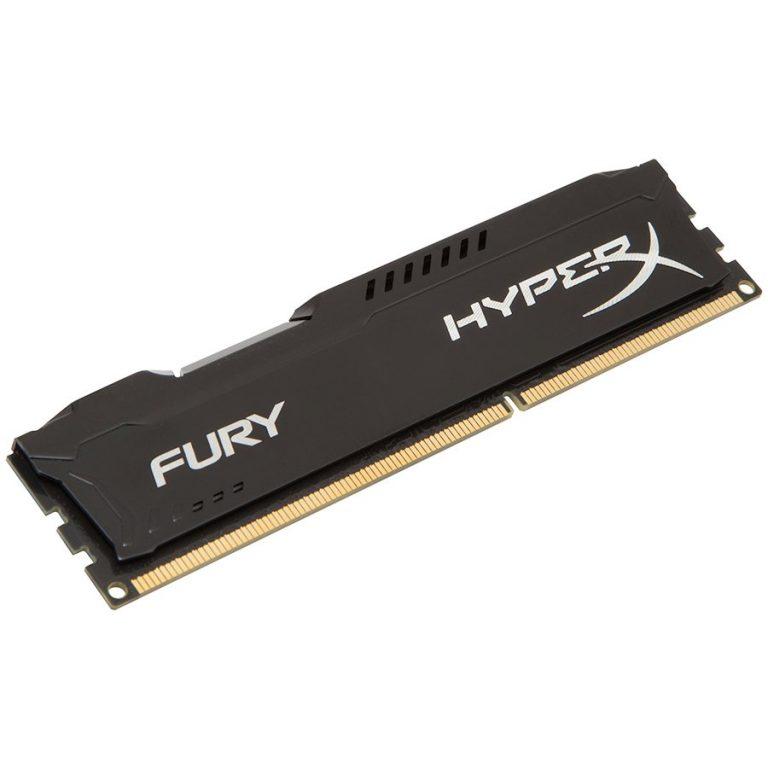 Kingston  8GB 1600MHz DDR3 CL10 DIMM HyperX FURY Black, EAN: '740617230406