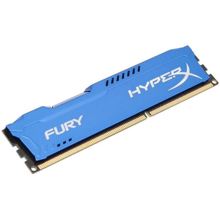 Kingston  8GB 1600MHz DDR3 CL10 DIMM HyperX FURY Blue, EAN: '740617230383