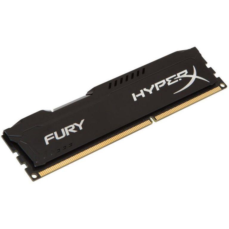 Kingston  4GB 1866MHz DDR3 CL10 DIMM HyperX FURY Black, EAN: '740617230550