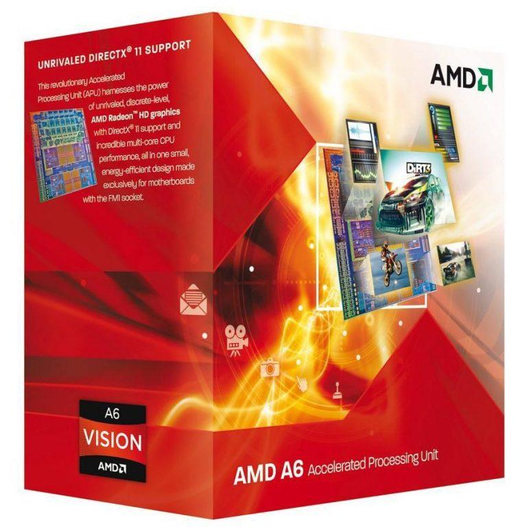 AMD CPU Kaveri A6-Series X2 7400K (3.5/3.9 GHz,1MB,65W,FM2+) box, Black Edition, Radeon TM R5 Series