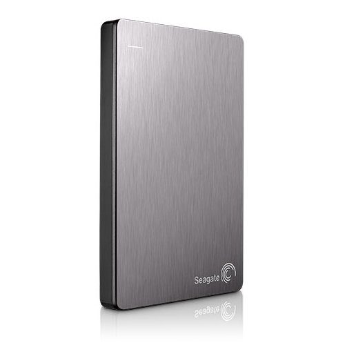 "SEAGATE HDD External Backup Plus Portable (2.5"",2TB,USB 3.0) Silver"