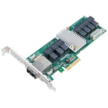 Adaptec by PMC, 12Gb/s SAS Expander Card, 28 Internal & 8 External, 7x SFF-8643(Internal) & 2x SFF-8644(external) connectors, 2283400-R