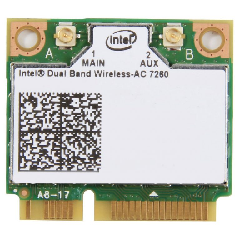Мрежова Карта INTEL (Mini PCI-E, Bluetooth/Wi-Fi, 867Mbps, IEEE 802.11a/b/g/n/ac/Bluetooth 4.0)
