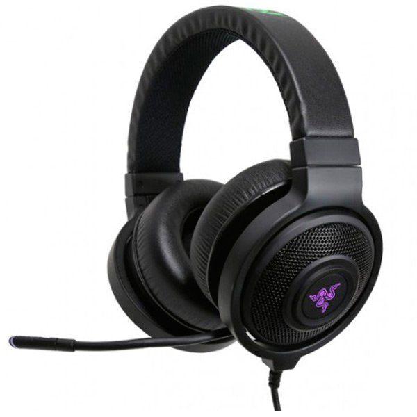 Razer Kraken 7.1 Chroma SUSB Gaming Headset,Advanced 7.1 virtual surround sound engine,Enhanced digital microphone,16.8 million customizable color options