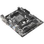 ASROCK Main Board Desktop AMD A68H (sFM2,2xDDR3,6ch,SATA III,GLAN,USB 3.0, DVI) mATX Box