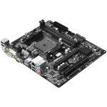 ASROCK Main Board Desktop AMD A68H (sFM2,2xDDR3,PCI E 3.0×16; PCI E 2.01×1; PCI 6ch,SATA III,GLAN,USB 3.0, DVI, HDMI) mATX Box
