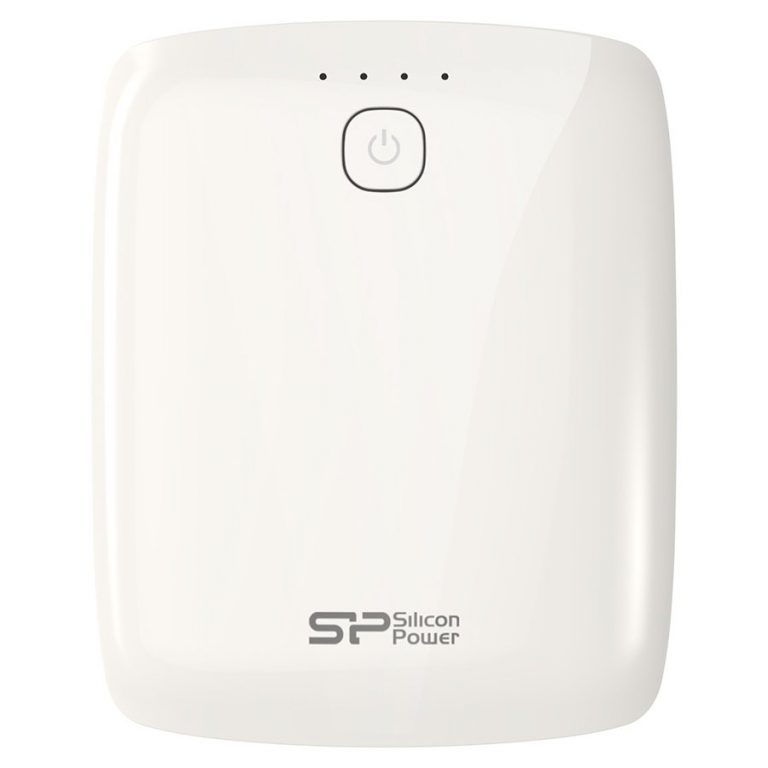 SILICON POWER (Power Bank) 10400 mAh, Power Bank Petroleum P101, White