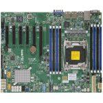 Supermicro MBD-X10SRI-F-O, Single SKT, Intel C612 chipset, 8xDIMMs DDR4 LR/RDIMM2400, 10xSATA3 6G, 2xSATA-DOM, 2x1GbE i350, IPMI2.0+IP-KVM, 4xPCIe3.0/2xPCIe2.0 slots, ATX 12×9.6, Retail