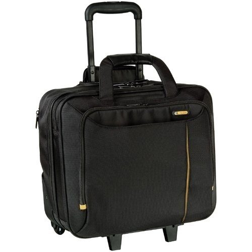 Meridian II Roller Laptop Case – Fits Laptops with Screen Sizes Up to 40cm (15.6″) – Black