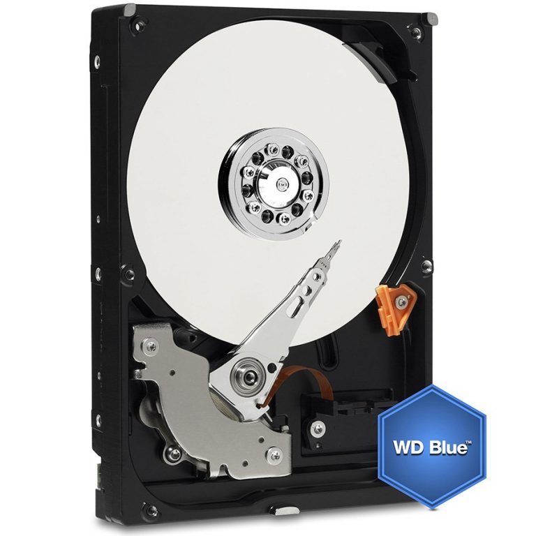 "HDD Desktop WD Blue (3.5"", 1TB, 64MB, 5400 RPM, SATA 6 Gb/s)"