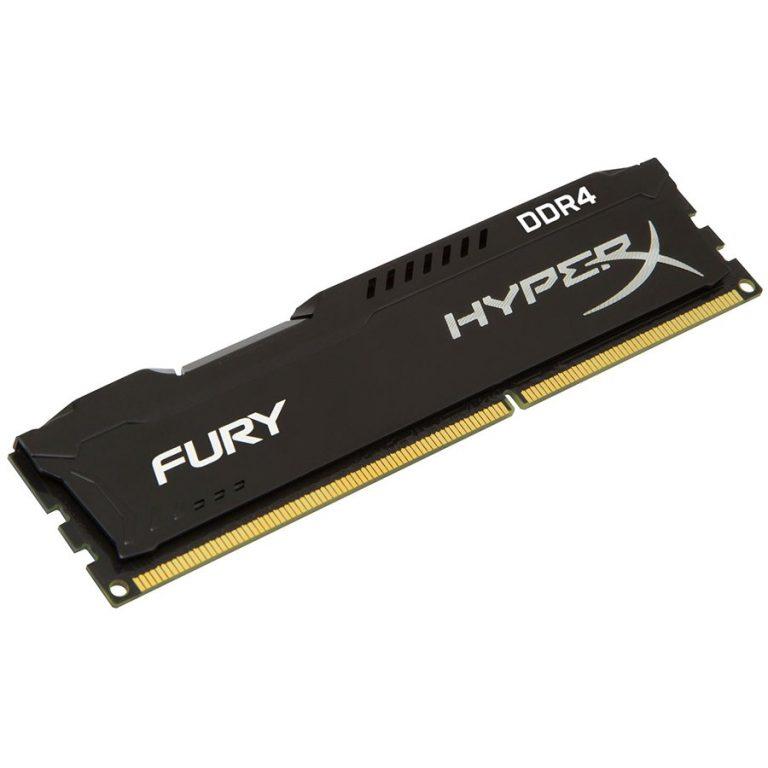 Kingston  4GB 2400MHz DDR4 CL15 DIMM HyperX FURY Black, EAN: '740617244335
