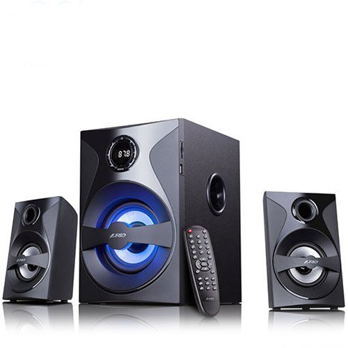 Multimedia Bluetooth Speakers F&D F380X (2.1 Channel Surround, 54W, 110Hz-20KHz, Subwoofer: 30-118Hz, Bluetooth 4.0, NFC, US