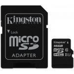 Kingston  16GB microSDHC Class 10 UHS-I 45MB/s Read Card + SD Adapter, EAN: '740617245974