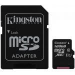 Kingston  128GB microSDXC Class 10 UHS-I 45MB/s Read Card + SD Adapter, EAN: '740617246247