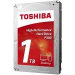 HDD desktop Toshiba P300 (3.5″ 1TB, 7200RPM, 64MB, NCQ, AF, SATAIII), bulk