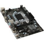MSI Main Board Desktop H110 (S1151, DDR4, USB3.1, USB2.0, SATA III, HDMI, VGA, Audio, LAN) mATX Retail