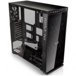 Chassis In Win 805C Mid Tower ATX Aluminum 3mm Tempered Glass, 3.5″/2.5″ x2 2.5″ x4, USB 3.1(TYPE-C) x1, 3.0 x 1,2.0 x2, HD Audio,120/140mm Fan x2, 120mm Fan x1(Included), 120mm Fan x2, Water-Cooling Ready,Black