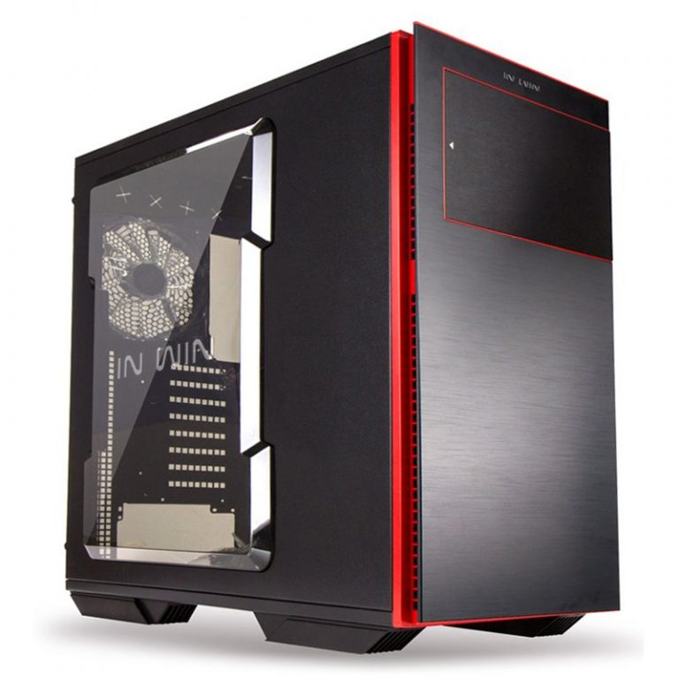 Chassis In Win 707 Full Tower E-ATX SECC Acrylic Window Side Panel, EX 5.25″ x3, 3.5″ or 2.5″ x8,USB 3.0 x2, U