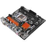 ASROCK Main Board Desktop iB150 (s1151,DDR4, 1xPCIe 3.0 x 16,1xPCIe x1, DVI-D, HDMI, 7.1 Ch, 4xSATA 3, USB 3.0) mATX