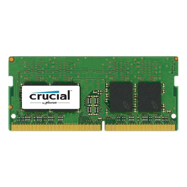 Crucial DRAM 4GB DDR4 2400 MT/s (PC4-19200) CL17 SR x8 Unbuffered SODIMM 260pin, EAN: 649528774798
