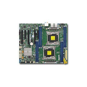 Supermicro MBD-X10DAL-i-O, Dual SKT, Intel C612 chipset, 10 x SATA3, 4 x PCI-E 3.0, 2 x GbE LAN, 7.1 audio, ATX – Retail