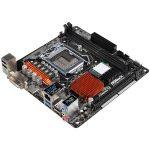 ASROCK Main Board Desktop H110 (S1151, 2xDDR4,1xPCI E x16, SATA III ,GLAN,DVD-D, HDMI, USB3.0)mini ATX retail