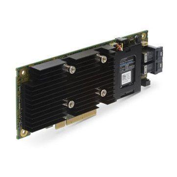DELL PERC H330 Storage RAID Controller Card, PCIe 3.0 x8, Full Height,SATA 6Gb/s / SAS 12Gb/s, 1.2Gbps, 8 Ch, RAID 0, RAID 1, RAID 5, RAID 10, RAID 50; CPU:LSISAS3008, 2 x SATA 6Gb/s / SAS 12Gb/s – 36 pin 4x Mini SAS HD (SFF-8643) ( internal )