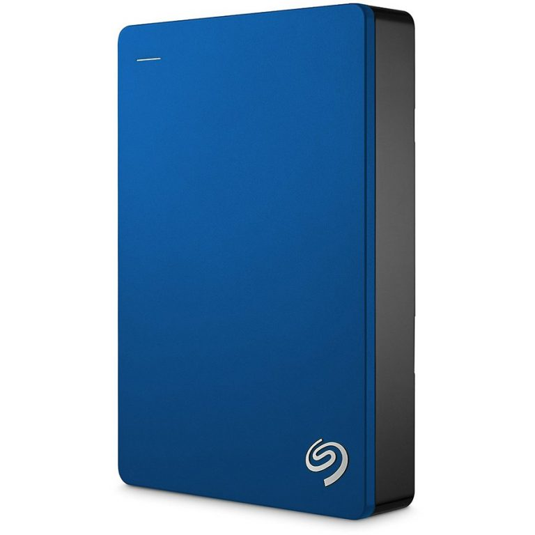 "SEAGATE HDD External Backup Plus Portable (2.5"",4TB,USB 3.0) Blue"