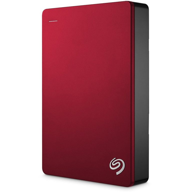 "SEAGATE HDD External Backup Plus Portable (2.5"",4TB,USB 3.0) Red"