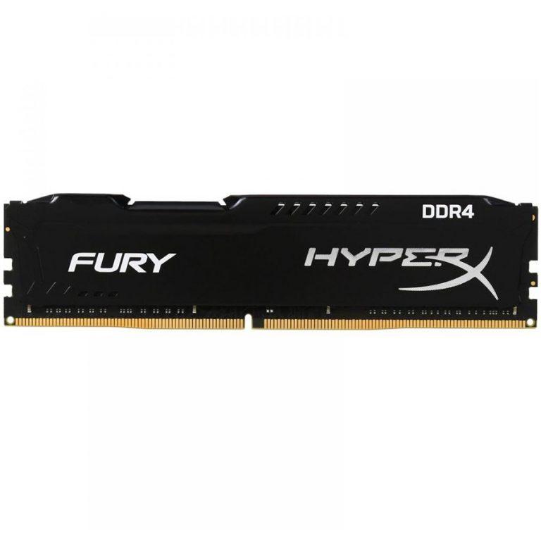 Kingston  16GB 2400MHz DDR4 CL15 DIMM HyperX FURY Black, EAN: '740617256611