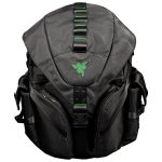 RAZER MERCENARY BACKPACK Made from robust 1680D ballistic nylon,Tear- and water-resistant exterior,TPU padded scratch proof interior.