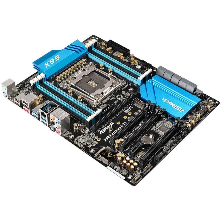 ASROCK Main Board Desktop iX99 (S2011, 8xDDR4, 3xPCIE3.0, 1xPCIE2.0x16,1xPCIE2.0x1,SATA III, Raid,GLAN,USB3.1) ATX retail