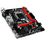 MSI Main Board Desktop H110 (S1151, DDR4, USB3.1, USB2.0, SATA III, HDMI, VGA, DVI, Audio, LAN) mATX Retail