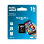GOODRAM 16GB MICRO CARD class 4 +adapter