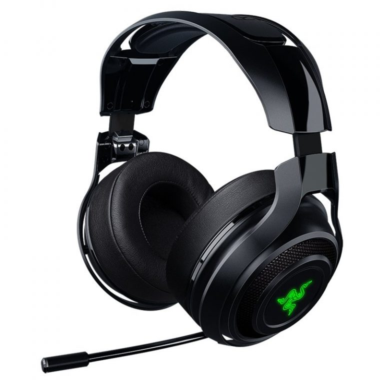 ManO'War Wireless PC Gaming Headset, Wireless 7.1 virtual surround sound for pinpoint precision,7 days of wireless gaming on a single charge, Lag-free wireless performance audio, Chroma lighting, Controls on ear cups, digital Mic