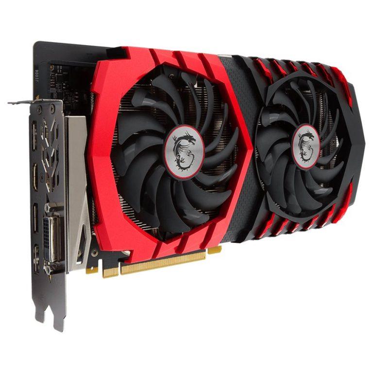 MSI Video Card GeForce GTX 1060 Gaming X GDDR5 6GB/192bit, PCI-E 3.0 x16,3DP, HDMI, DVI-D, Retail