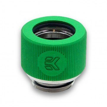 EK-HDC Hard Tubing Fitting 12mm G1/4 – Green