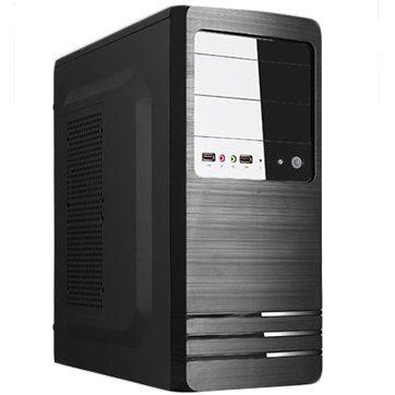 Chassis EM02A-A2, ATX/ MICRO ATX, 7 slots, 2 X 5.25″, 1 X 3.5″ H.D., 2 X 2.5″ SSD, 2 X USB2.0 / 2 x AUDIO /, PSU 550W 12 sm, 20+4pin, 2 x IDE, 3 x SATA, 355*175*405mm, 1 x 80mm Back Black FAN /opt/., Black