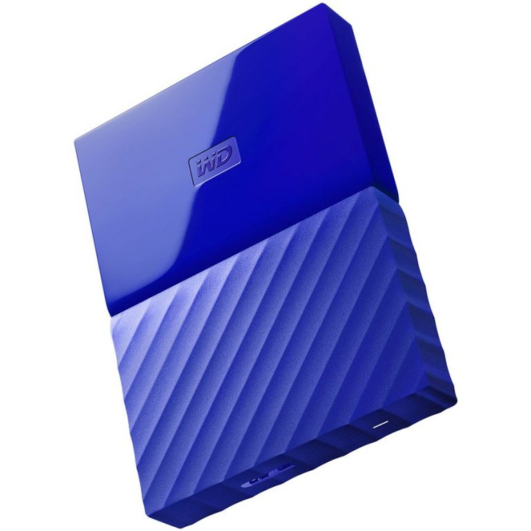 "HDD External WD My Passport (2.5"", 1TB, USB 3.0) Blue"
