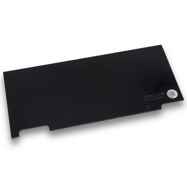 EK-FC1080 GTX TF6 Backplate – Black