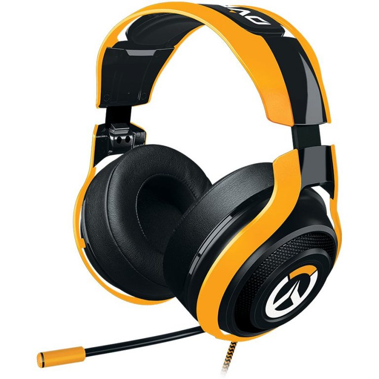 Overwatch Razer ManO'War Tournament Ed. Analog Gaming Headset,Powerful drivers and sound isolation for the highest-quality gaming audio experience,In-line controls and fully retractable microphone for easy access,Optimized weight and ergonomics for
